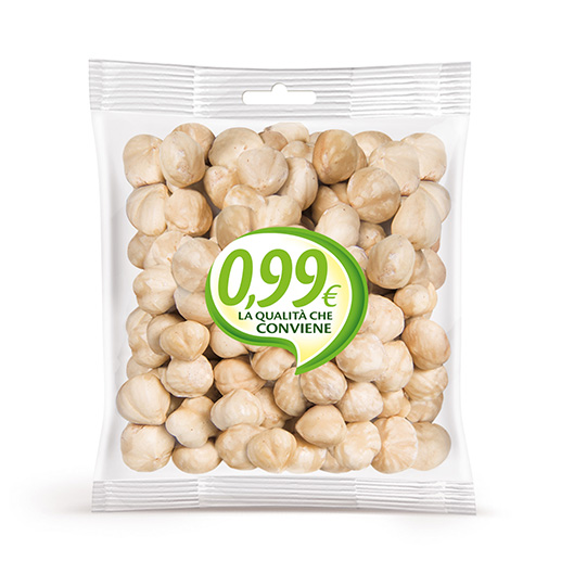 Peeled hazelnuts - Linea 0,99 - Vincenzo Caputo SRL
