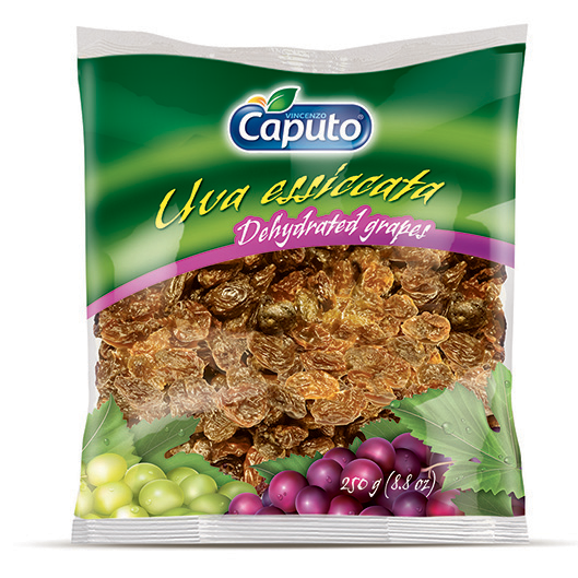 Drehydrated grapes 250g: Nuts on the move - Vincenzo Caputo Srl