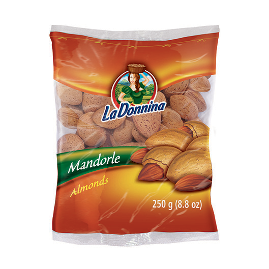 "Almonds 250g ""La Donnina"": Nuts on the Move - Vincenzo Caputo Srl"
