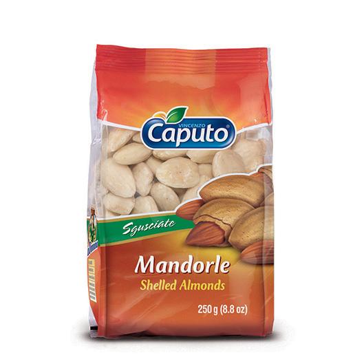Mandorle pelate 250gr – Vincenzo Caputo SRL