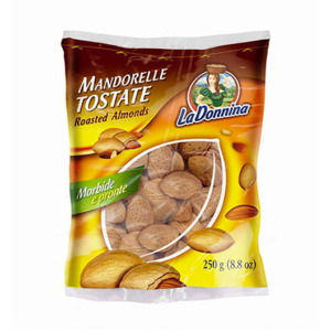 Mandorelle Tostate - La Donnina - 250gr - Vincenzo Caputo SRL