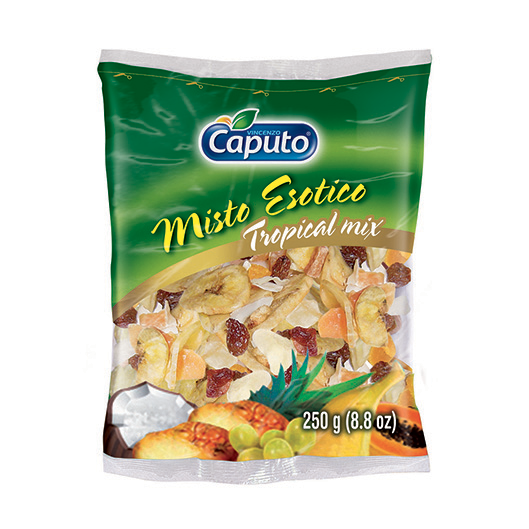 Exotic Mix 250g: Nuts on the Move - Vincenzo Caputo Srl