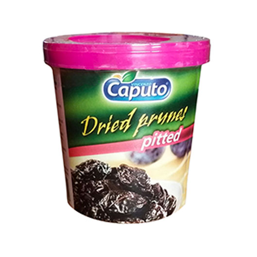 Dried prunes pitted: Nuts on the move - Vincenzo Caputo Srl