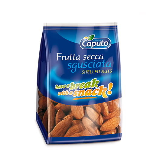 Shelled almonds Have a Break: nuts on the move - Vincenzo Caputo Srl