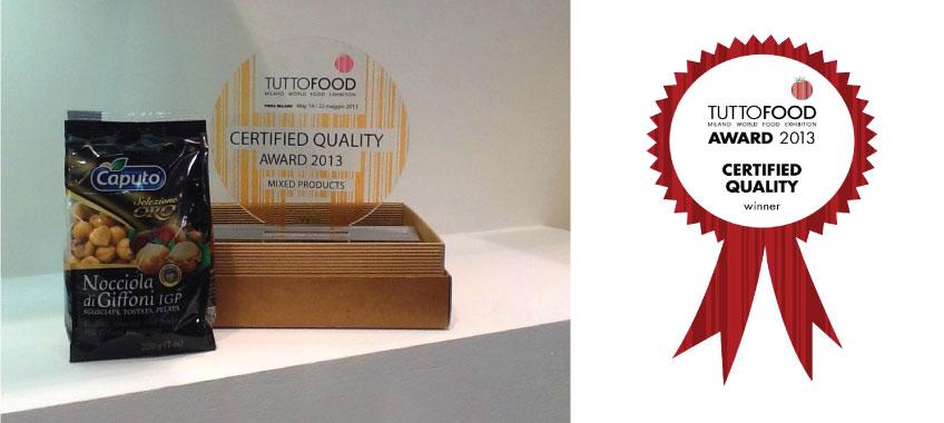 Tuttofood 2016 Milano - Premio per Vincenzo Caputo Srl
