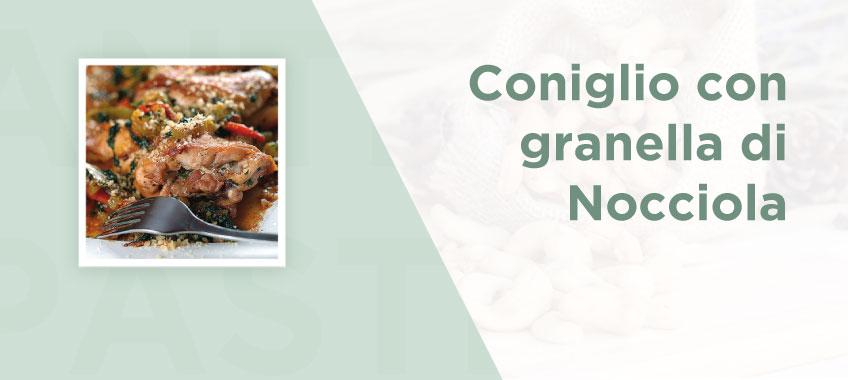 Coniglio con granella di nocciola - Ricette di Vincenzo Caputo SRL