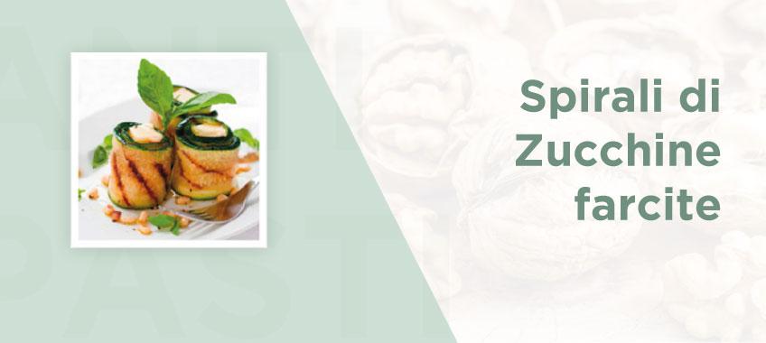 Spirali di zucchine farcite - Ricette di Vincenzo Caputo SRL