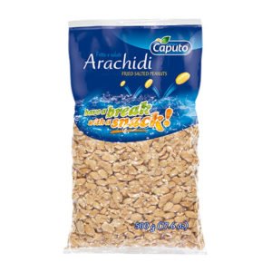 Arachidi fritte e salate 500g: Frutta secca in movimento