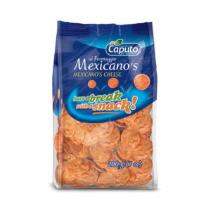 Mexicano's al formaggio: Frutta secca in Movimento - Vincenzo Caputo Srl