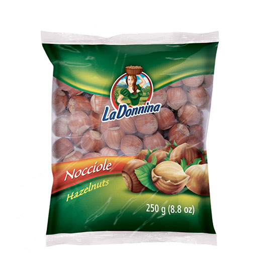 Hazelnuts 250g: Nuts on the Move - Vincenzo Caputo Srl