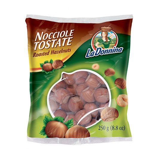 Roasted hazelnuts 250g: Nuts on the Move - Vincenzo Caputo Srl