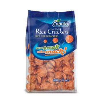 Rice Crackers al Chili: Frutta secca in movimento - Vincenzo Caputo Srl