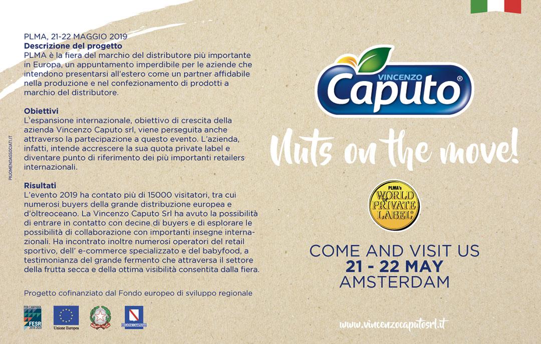 Vincenzo Caputo srl alla fiera PLMA di Amsterdam