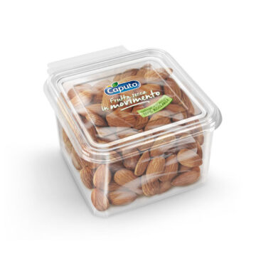 Shelled almond 250g: Nuts on the move - Caputo